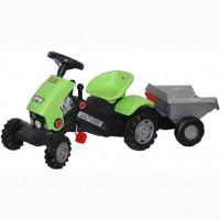 Каталка-трактор с педалями Turbo-2 с полуприцепом 52742 П-Е /1/