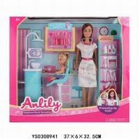 Кукла 99279 Anlily стоматолог с малышкой в кор.