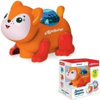 Лисичка Диско-зверята 4680019284583 Светло-оранжевая