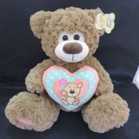 Медведь 30 см 141-640O с сердцем