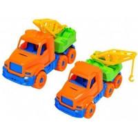 Автомобиль Добрыня Эвакуатор оранжевый 20см И-2806
