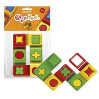 Логич. игрушка Домино Отличник 6шт. 12025