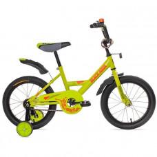 "Велосипед 2-х 16"" 1602 base салатовый DD-1602B"