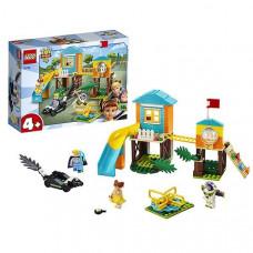 Констр-р LEGO 10768 Джуниорс История игрушек-4: Приключения Базза и Бо Пип на детской площадке