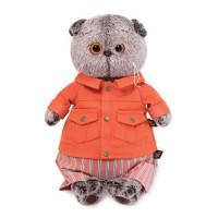 Басик в оранжевой куртке и штанах 19 см. Ks19-148