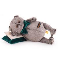 Басик на зеленой бархатной подушке Kl18-153