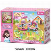 Игровой набор 079QL Любимая дача с куклой в кор.