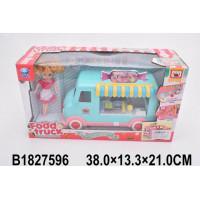 Игровой набор 66091-2 Автомагазин с куклой и аксесс., в кор.