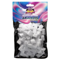"Наполнение для слайма Кубики из пены Джелли куб Jelly Cube SSS30-16 ТМ"" Slimer"""