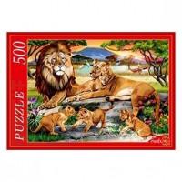 Пазл 500 Семья львов Ф500-5146