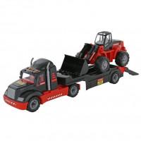 Автомобиль-трейлер + трактор-погрузчик 206-01 MAMMOET 56993 П-Е /1/