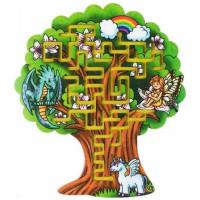 Дер.Лабиринт большой Дерево 0050 /Большой слон/