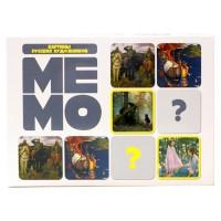 Игра Мемо Картины русских художников 50 карточек 03625