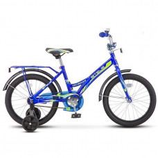 """Велосипед 2-х 18"""" Talisman синий Z010 /STELS/"""