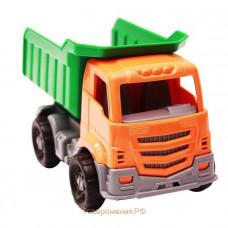 Автомобиль Илья Самосвал Строительный зеленый 22см И-8237