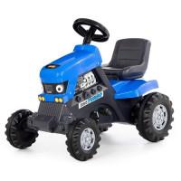 Каталка-трактор с педалями Turbo синяя 84620 П-Е /1/