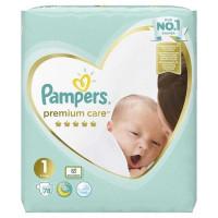 Подгузники PAMPERS Premium Care Newborn 2-5 кг.