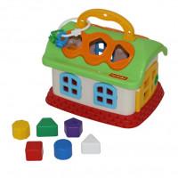 Логич.игрушка Сказочный домик в сетке 48745 /П-Е/6/