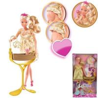 Штеффи Кукла беременная Королевский набор 29 см 5737084029