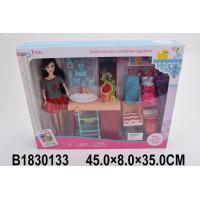 Кукла 200-55JX Ванная комната с аксесс. в кор.