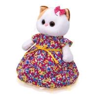 Ли-Ли Кошечка в платье с цветочным принтом LK24-055