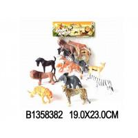 Набор животных 2A-008-1 Сафари в пак.