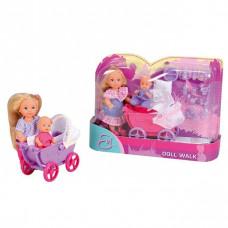 ЕВИ Кукла с малышом на прогулке в кор. 5736241/754413
