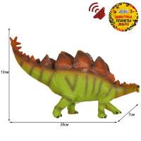 Игрушка на бат. Динозавр Звук – рёв животного, эластичная поверхность JB0208305