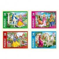 Пазл 24 Волшебный мир принцесс П24-0621