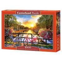 Пазл 1000 Живописный Амстердам С-104536 Castor Land