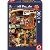 Пазл 1000 Все для кухни 58141 Schmidt
