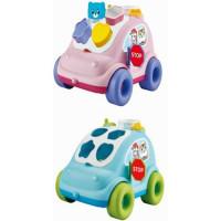 Логич. игрушка Сортер 91165EQX Машинка в кор.