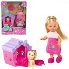 ЕВИ Кукла с собачкой в домике 5735867029