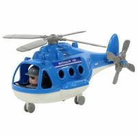 Вертолет милиция Альфа в сетке.72412 П-Е /24/