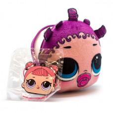 LOL Плюшевая сумочка-антистресс с сюрпризом внутри.Игрушка-антистресс. браслет.шармик LLD15400/RU РА