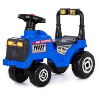 Каталка-трактор Митя №3 синяя 85412 П-Е /3/