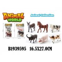 Набор животных 888-3HJ Домашние в пак.