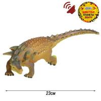 Игрушка на бат. Динозавр Звук – рёв животного, эластичная поверхность JB0208304