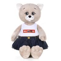 Мышель в джинсовой юбке и футболке 20 см в кор. MT-MRT051906-20