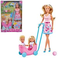 Кукла Штеффи, Еви и Тимми с питомцами 29 см 5733229029