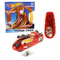 Hot Wheels Турбо-трек (20 деталей, ИК управл., 1 болид, со светом) Т14096