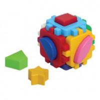 Логич.игрушка Куб Умный малыш мини 1882 /интелком/
