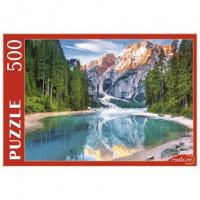 Пазл 500 Италия.Озеро среди Доломитовых альп ГИП500-0613