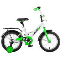"Велосипед 2-х 14"" STRIKE бело-зеленый"