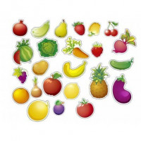 Игра Фрукты,овощи и ягоды магнитные ИН-8995