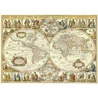 Пазл 2000 Историческая карта мира 84003 Степ /9/
