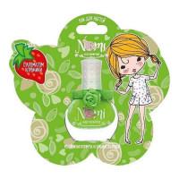 Лак для ногтей для девочек NOMI №21 Зеленое яблоко в блистере 4650065880619