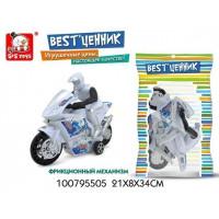 Мотоцикл инерц. 100795505 BEST'ценник в пак.