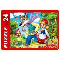 Пазл 24 Макси Сказка о красной шапочке ПУ24-0606