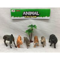 Набор животных 099E-1 Дикие в пак.